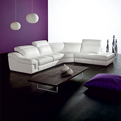 Cuir Center - Canapé d'angle-Cuir Center-APOLLON