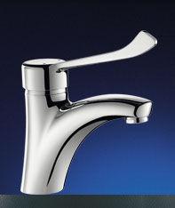 DELABIE - Mitigeur lavabo-DELABIE-MITIGEUR BEC FIXE H.85