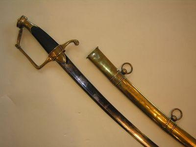 Aux Armes d'Antan - Sabre-Aux Armes d'Antan-sabre d'Officier de Cavalerie légère, époque Consulat-Empire