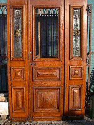 Antiques Forain - Porte d'entrée vitrée-Antiques Forain