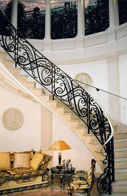 Reignoux Creations - Rampe d'escalier-Reignoux Creations