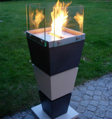 Beton Concept - Torchère-Beton Concept-Ecrin Flam