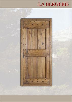 Portes Anciennes - Porte d'entrée pleine-Portes Anciennes-La Bergerie
