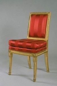 Aveline - Chaise-Aveline-Suite de 8 chaises Empire et Louis Philippe
