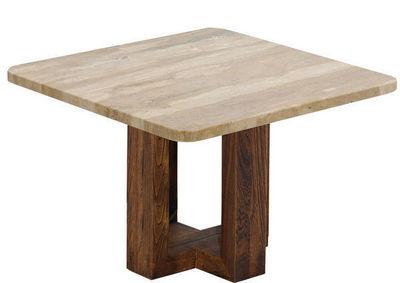 Marbrerie Rouillon - Table de repas carrée-Marbrerie Rouillon-BALI