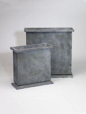 DESIGNER PLANTERS - Pot de jardin-DESIGNER PLANTERS-Galvanised Steel Planters