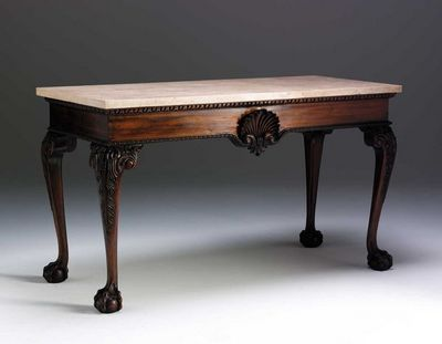 The English House - Console-The English House-George II Shell Side Table