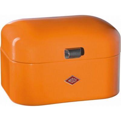 Wesco - Huche à pain-Wesco-Grandy rétro petit modèle orange