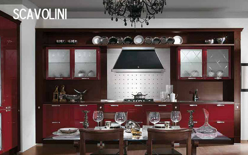 SCAVOLINI Built in kitchen Fitted kitchens Kitchen Equipment Kitchen | Classic