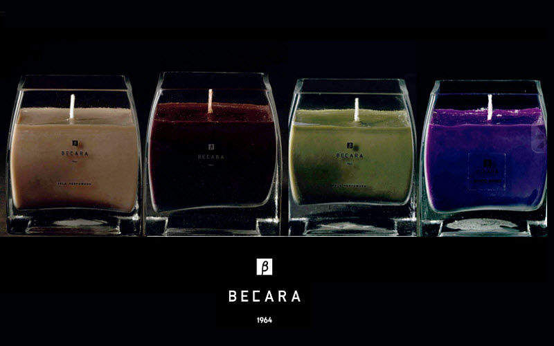 BECARA Scented candle Scents Flowers and Fragrances  |
