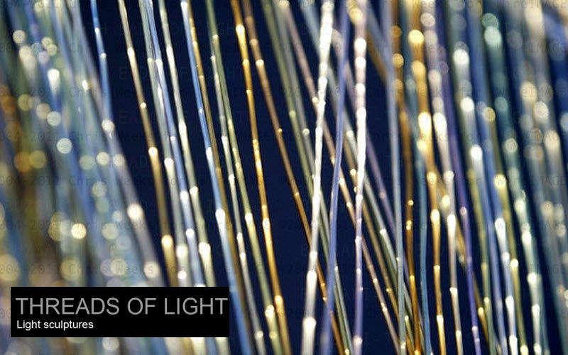 Threads of Light Decorative illuminated object Luminous objects Lighting : Indoor  |