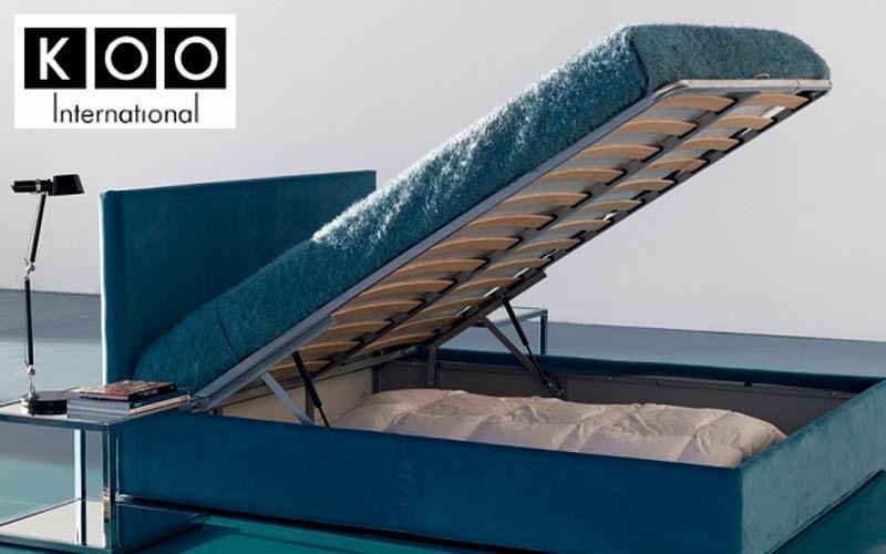 Koo International Storage bed Single beds Furniture Beds Bedroom | Design Contemporary
