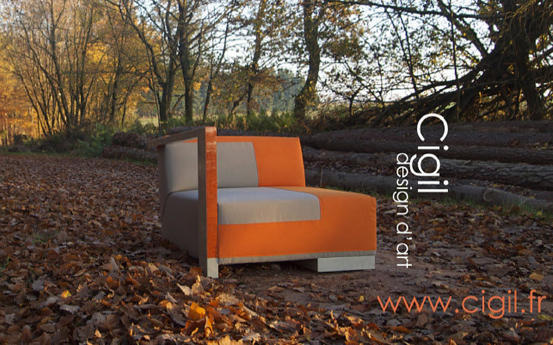 Cécile Mairet Corner armchair Armchairs Seats & Sofas  |