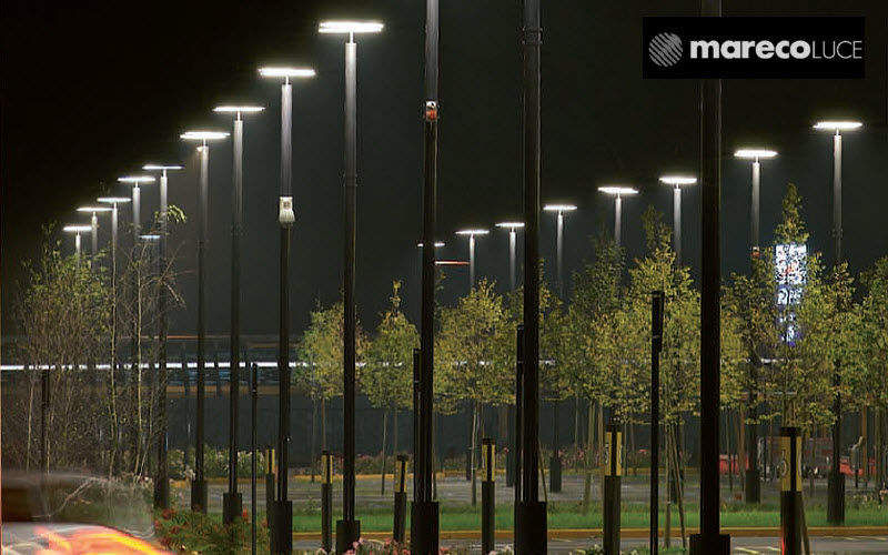 Mareco Luce Lamp post Exterior reflectors and lamp-holders Lighting : Outdoor Public space   Design Contemporary