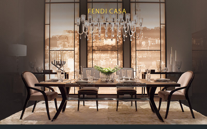 Fendi Casa    Dining room | Contemporary