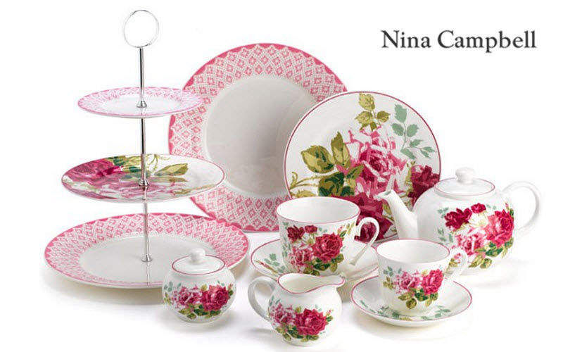 Nina Campbell Tea service Table sets Crockery Dining room | Cottage