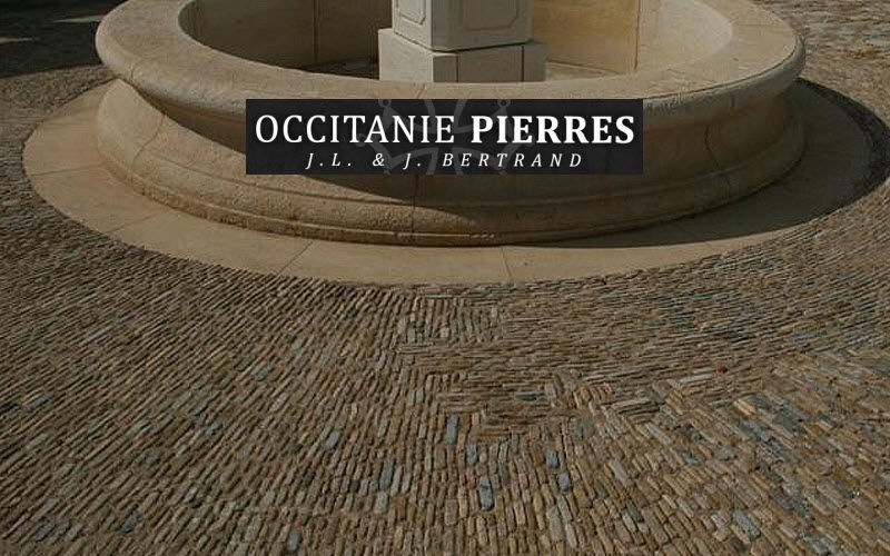 Occitanie Pierres Pebblestone Outside floors Flooring Balcony-Terrace | Cottage