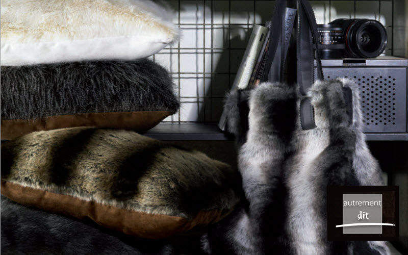 AUTREMENT DIT Fake fur Furnishing fabrics Curtains Fabrics Trimmings  |