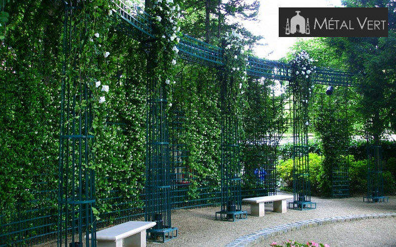 METAL VERT Peristyle Enclosures and trellis-work Garden Gazebos Gates... Garden-Pool | Classic