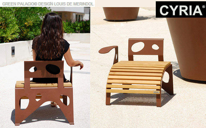CYRIA Urban armchair Street furniture Outdoor Miscellaneous  |