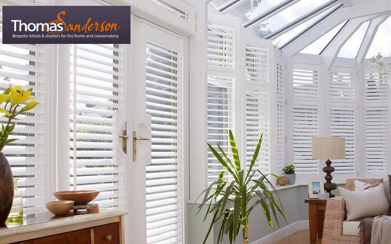 Thomas Sanderson Conservatory blind Blinds Curtains Fabrics Trimmings   