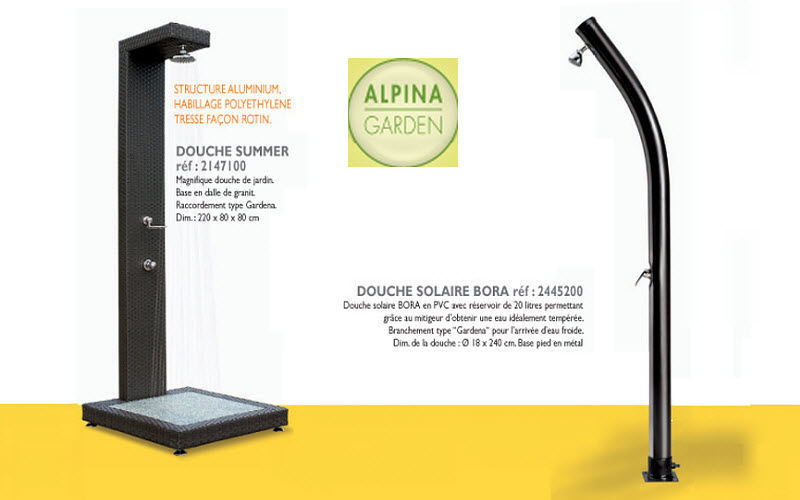 ALPINA GARDEN Outdoor shower Games and comfort Swimming pools and Spa  |