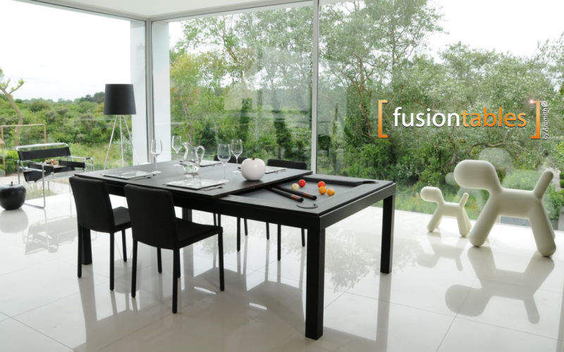 FUSIONTABLES Mixed billiard table Billiards Games and Toys Dining room | Contemporary