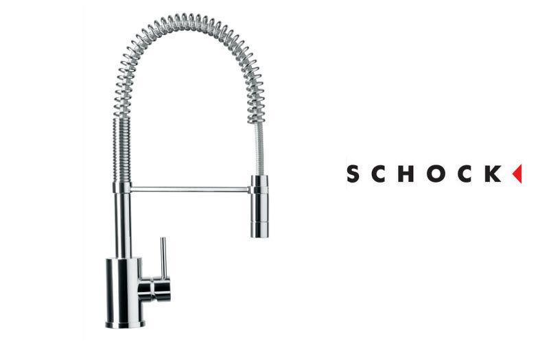 Schock Kitchen mixer tap with spray attachment Kitchen taps Kitchen Equipment   