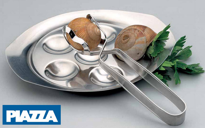 Piazza Snail tongs Tongs and skewers Tabletop accessories  |