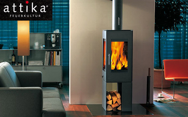 Attika Wood-burning stove Stoves, hearths, enclosed heaters Fireplace  |