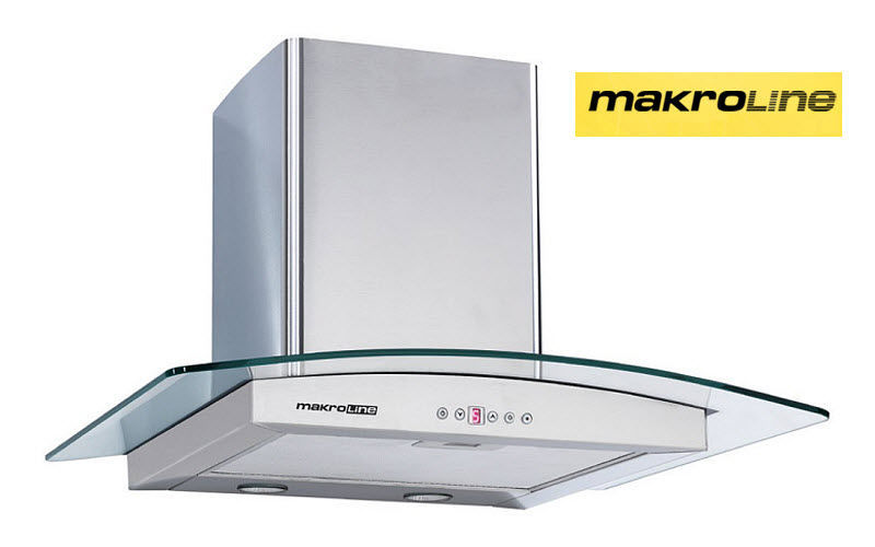 MAKROLINE Wall mount hood Extractor hoods Kitchen Equipment  |