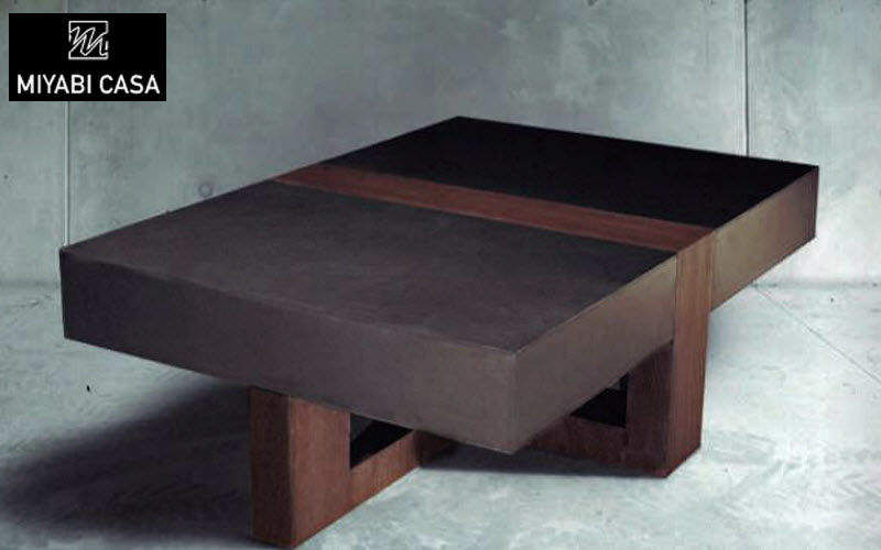 MIYABI CASA Rectangular coffee table Low tables Tables and Misc.  |