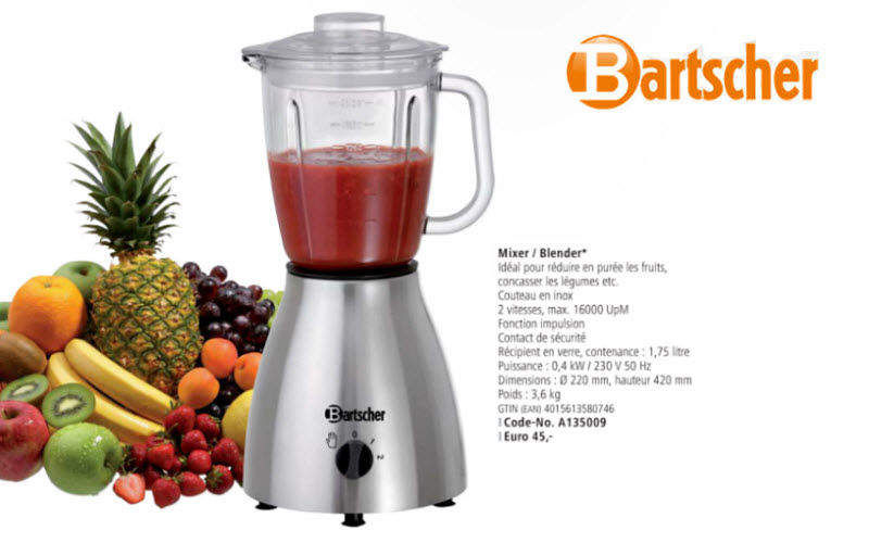 Bartscher Blender Mixers and blenders Kitchen Accessories  |