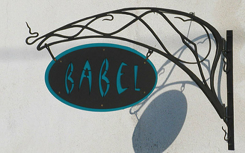BABEL Advertising sign POS Beyond decoration  |