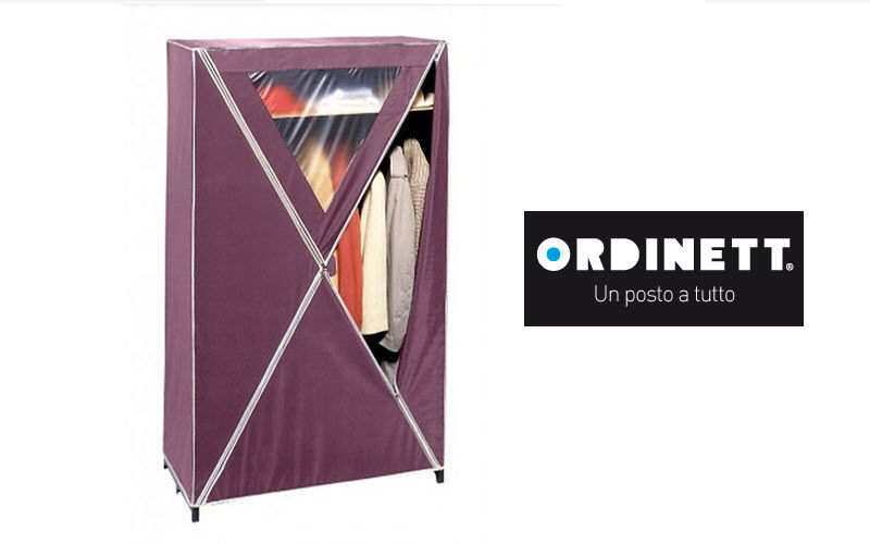 ORDINETT Canvas wardrobe Clothes racks Wardrobe and Accessories  |