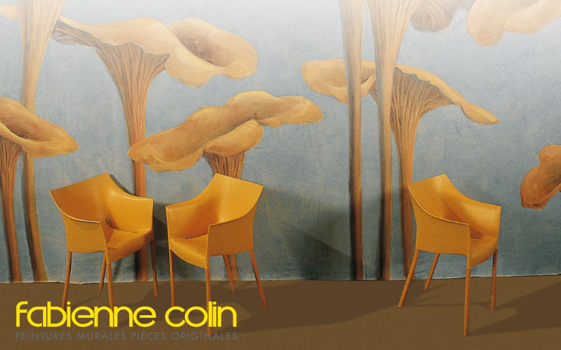 Fabienne Colin Trompe l'oeil Wall decorations Ornaments  |