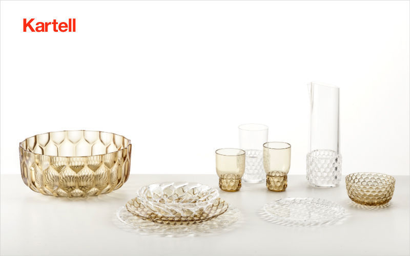 Kartell Table service Table sets Crockery Kitchen | Design Contemporary