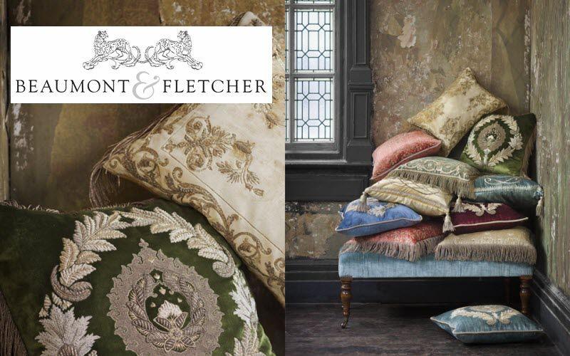 Beaumont & Fletcher Square Cushion Pillows & pillow-cases Household Linen   