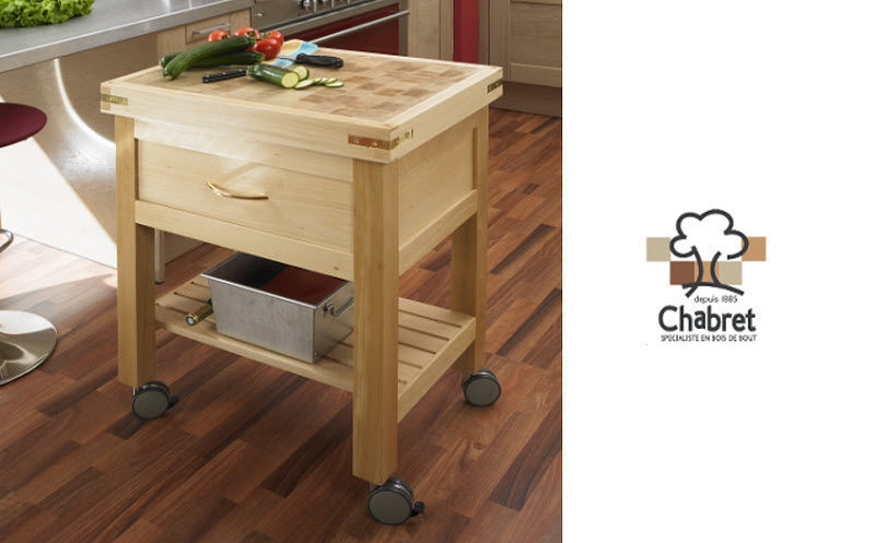 CHABRET Butchers' block Chopping blocks & stands Kitchen Equipment  |