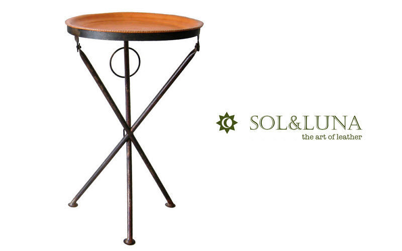 Sol & Luna Pedestal table Occasional table Tables and Misc.  |