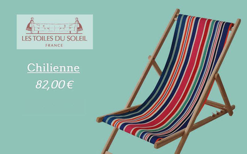 Les Toiles Du Soleil Lounger Garden chaises longues Garden Furniture  |