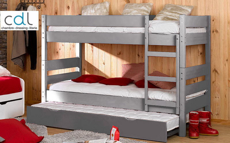 CDL Chambre Dressing Literie.com Bunk Bed Single Beds Furniture Beds |