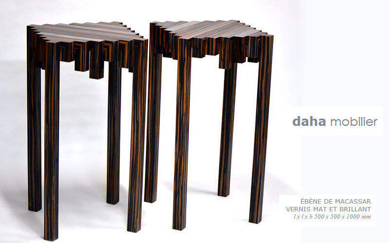 DAHA MOBILIER Pedestal Occasional table Tables and Misc.  |