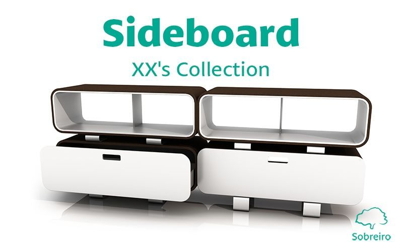 SOBREIRO DESIGN Low Chest Cabinets and Buffets Storage  |