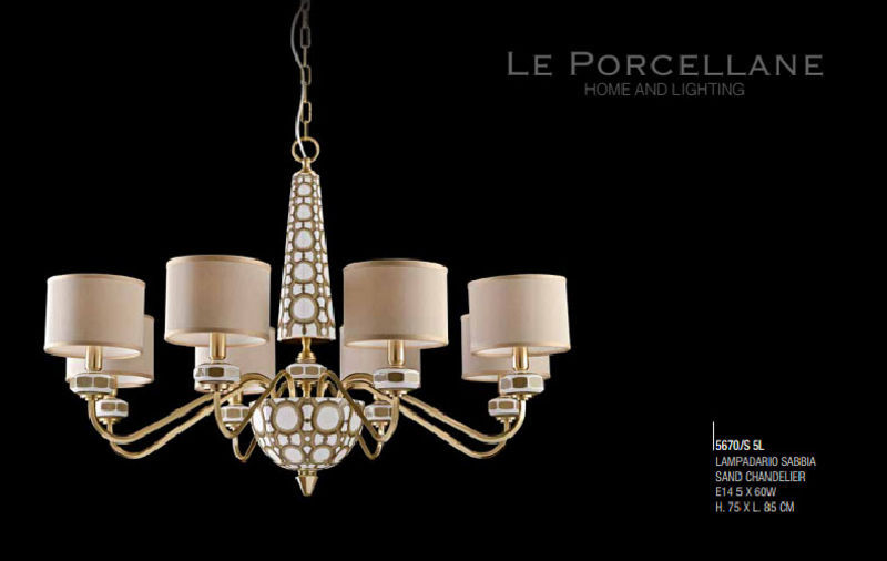 Le Porcellane Chandelier Chandeliers & Hanging lamps Lighting : Indoor  |