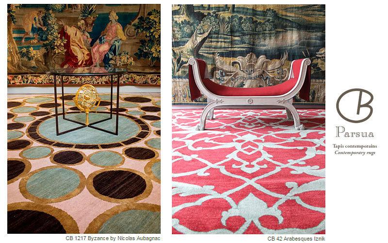 Parsua Tapis Contemporains Modern rug Modern carpets Carpets Rugs Tapestries  |