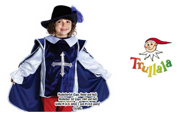 Trullala Spielwaren Costume Disguises Games and Toys  |