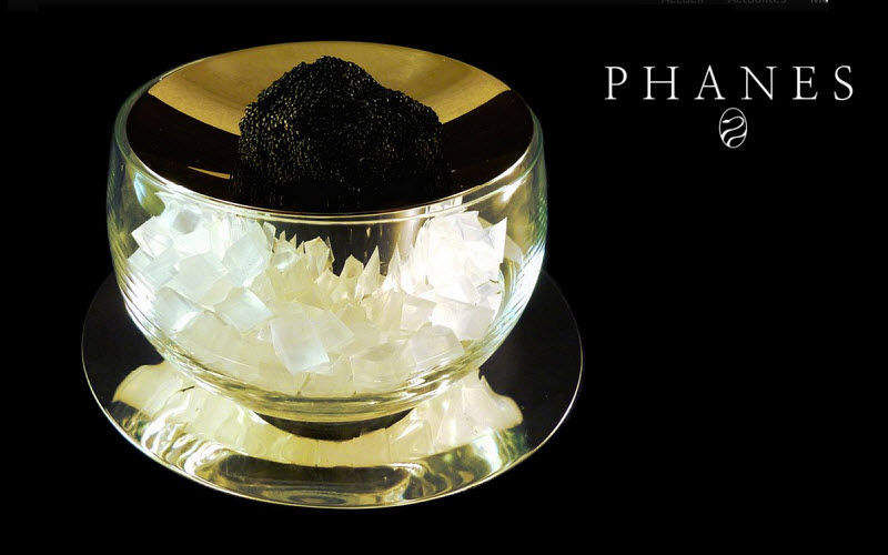 PHANES Caviar dish Cups and fingerbowls Crockery  |