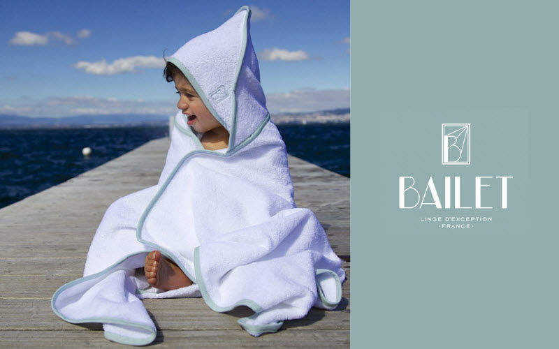BAILET Hooded towel Children's bath and washing Children's corner  |