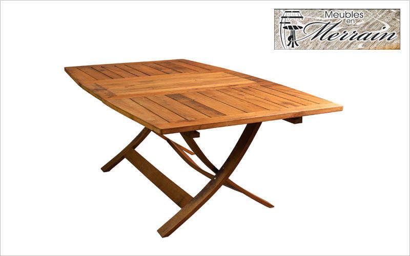 MEUBLES EN MERRAIN Garden table Garden tables Garden Furniture  |